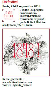 Article sur la Boîte à Histoire paru dans le magazine l'Histoire