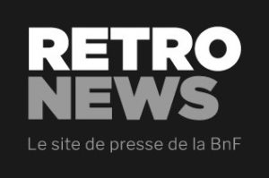 Logo de Retronews, le site de presse de la Bnf